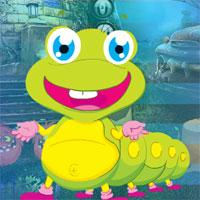 Free online flash games -  G4K Joyful Worm Escape game - WowEscape