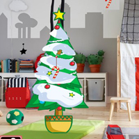 Free online html5 games - GFG Kids Room Christmas Escape game