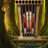 Free online flash games - Games2Jolly Red Monkey Escape