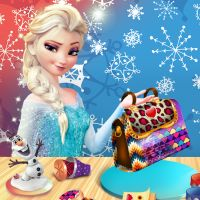Free online flash games - Elsa DIY Dream Purse game - WowEscape