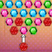 Free online flash games - Gem Match Shooter game - WowEscape