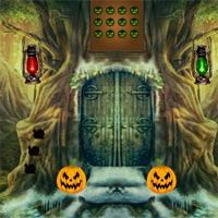 Free online flash games - 8bGames Halloween Scared Cat Escape game - WowEscape