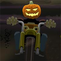 Free online flash games - Pumpkin Head Rider game - WowEscape