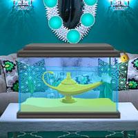 Free online flash games - Genie Lamp Escape game - WowEscape
