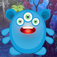 Free online flash games - G4K Three Eyed Creature Escape  game - WowEscape