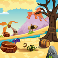 Free online flash games - Escape From Fantasy World Level 8 game - WowEscape