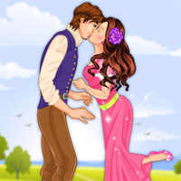 Free online flash games - Princess Kiss Girls game - WowEscape