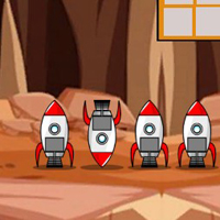Free online flash games - G2J Rescue The Girl From Mars