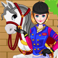 Free online flash games - Girl and Horse Dressup game - WowEscape