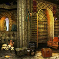 Free online flash games - FEG Medieval Palace Escape game - WowEscape