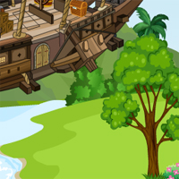Free online flash games - Hindenburg Airship Escape
