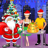 Free online flash games - Finding the Christmas Cake