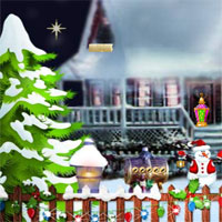 Free online flash games - Top10 Christmas Find The Santa Shoe