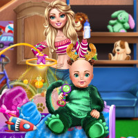 Free online flash games - Babysitter Fun Day game - WowEscape