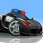 Free online flash games - V8 Police Parking game - WowEscape