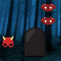Free online flash games - Big Spooky Forest Escape game - WowEscape