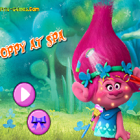 Free online flash games - Poppy At Spa  game - WowEscape
