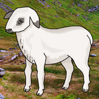 Free online flash games - Big Mountain Lamb Escape game - WowEscape