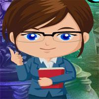 Free online flash games - G4K Good Professor Rescue Escape game - WowEscape
