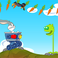 Free online flash games - Bugs Bunny Rider game - WowEscape