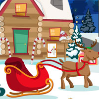 Free online flash games - YolkGames Aid Santa To Escape game - WowEscape