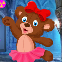 Free online flash games - Games4King Cute Bear Cub Rescue game - WowEscape