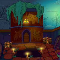 Free online flash games - Ena The Circle 2 Soul Hunter Home Escape game - WowEscape