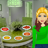 Free online flash games - Thanksgiving Party Food Escape game - WowEscape
