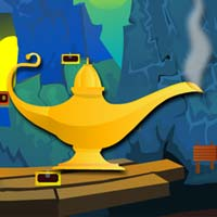 Free online flash games - find magical lamp game - WowEscape