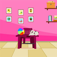 Free online flash games - KnfGames Pink Room Escape game - WowEscape