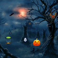 Free online flash games - Halloween Night Escape game - WowEscape