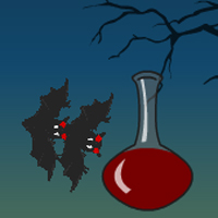 Free online flash games - Attack of the Vampire Bats Playray game - WowEscape
