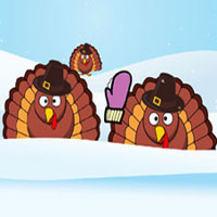 Free online flash games - Turkey Target Practice game - WowEscape