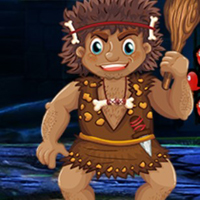 Free online flash games - G4K Funny Cavemen Escape