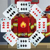 Free online flash games - Firemen Solitaire HTMLGames game - WowEscape