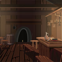 Free online flash games - Wooden Cottage Escape game - WowEscape