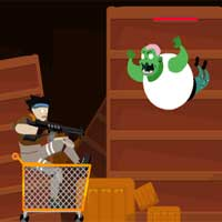Free online html5 games - Zombies on Wheels The Arrival game
