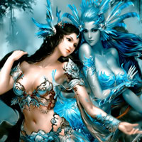 Free online flash games - Fantasy Beauty Girls game - WowEscape