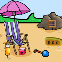 Free online flash games - Beach Party Rescue game - WowEscape