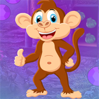 Free online flash games - G4K Grin Monkey Escape  game - WowEscape
