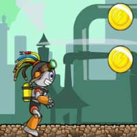 Free online flash games - Bionic Race CloudGames game - WowEscape