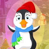 Free online flash games - G4K Christmas Penguin Escape game - WowEscape