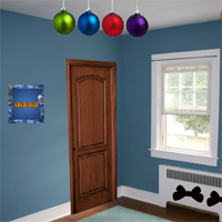 Free online flash games - 8bGames Christmas Blue House Escape game - WowEscape