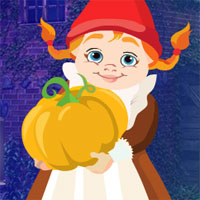 Free online flash games - G4K Pumpkin Girl Rescue game - WowEscape