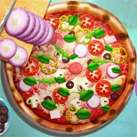 Free online html5 games - Pizza Realife Cooking game
