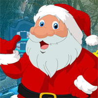 Free online flash games - G4k Find Christmas Santa game - WowEscape