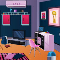 Free online flash games - Escape From Bachelor Room game - WowEscape