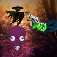 Free online flash games - Big Halloween Templeland Escape game - WowEscape