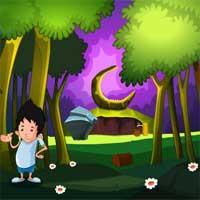 Free online flash games - MirchiGames Illusion Forest Escape game - WowEscape