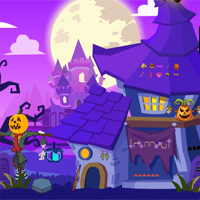 Free online flash games - Halloween Find The Ouija Board game - WowEscape
